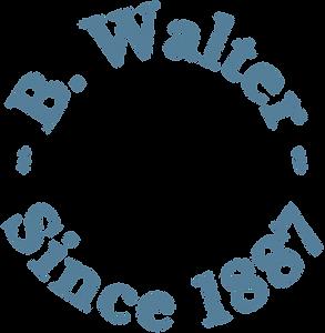 Full Circle B. Walter logo Blue