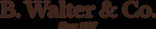 B. Walter horizontal logo