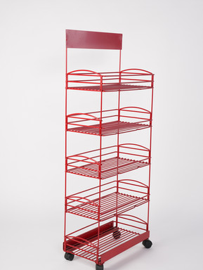 B. Walter & Co. Custom Metal Display Rack 1
