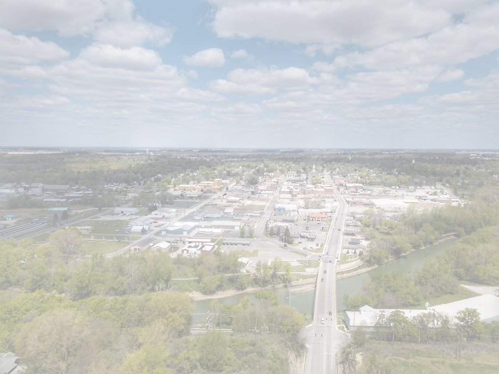 aerial photograph of Wabash, IN