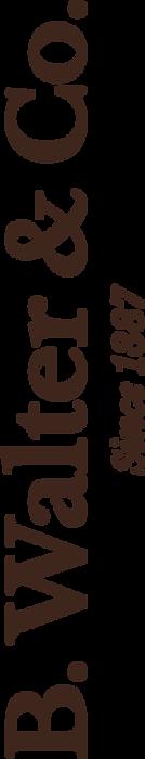 B. Walter vertical logo