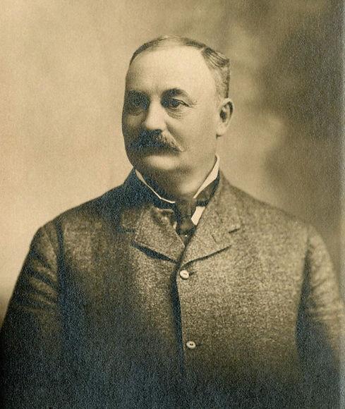 Founder of B. Walter Sheriff Bossler Walter in 1890