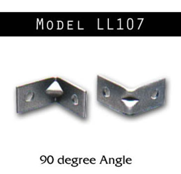 90° Angle Bracket with Gusset