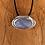 Thumbnail: Blue Lace Agate Oval Pendant