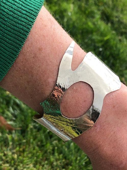 Unique fern impression cuff