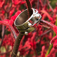 Dew drops ring