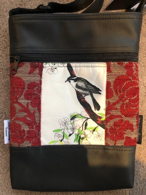 Honeyeater and Tasmanian Leatherwood Pocket Bag