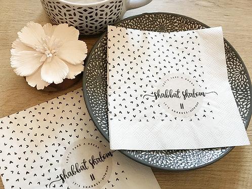 wholesale - paper napkins/ shabbat shalom