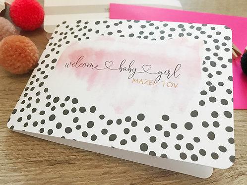 wholesale - welcome baby girl