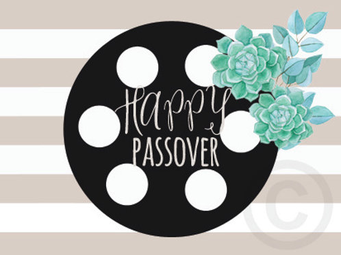 happy passover / postcard