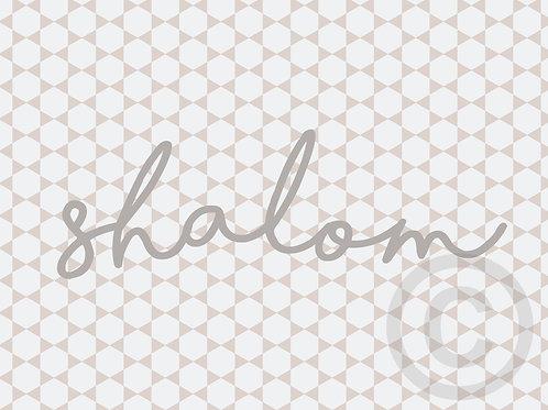 shalom / postcard