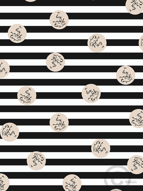 wholesale - a big mazel tov / wrapping paper