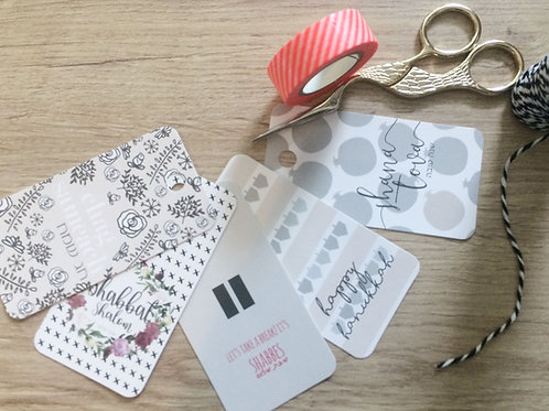 tags mixed pack - holidays