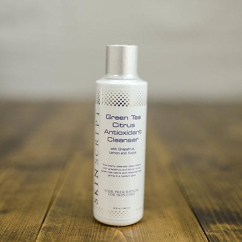 Skin Script Green Tea Citrus Antioxidant Cleanser - 6.5 oz.