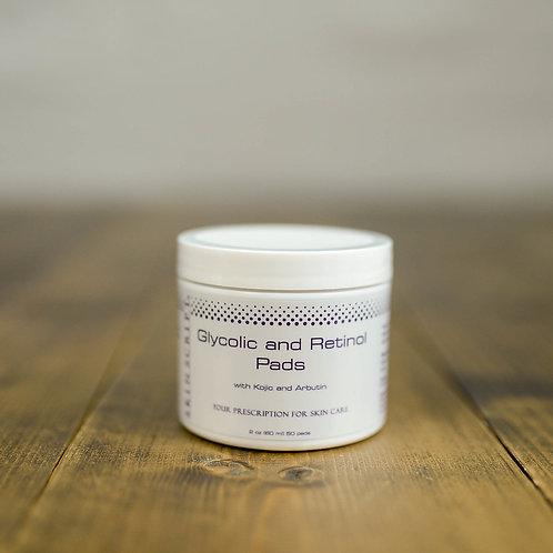Skin Script Glycolic and Retinol Pads - 50 pads