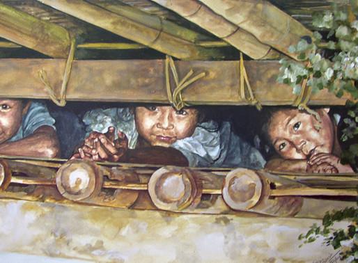 Maung Maung Tinn, l'artista Karen