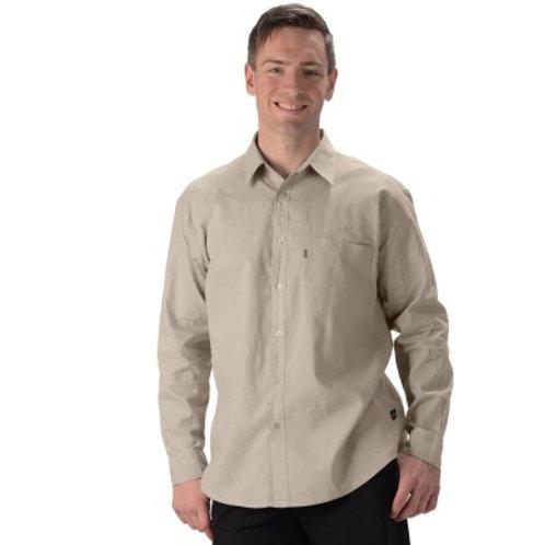 Mens Hemp/OC Long Sleeve Dress Shirt