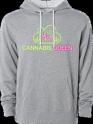 Grey Hoodie - Cannabis Grow.png