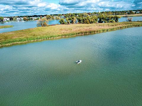 2020-10-21 - Long Aerial Shot - GL Boats