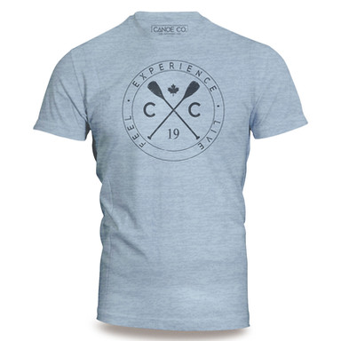 Light Blue Crossed Paddle - T-shirt.jpg