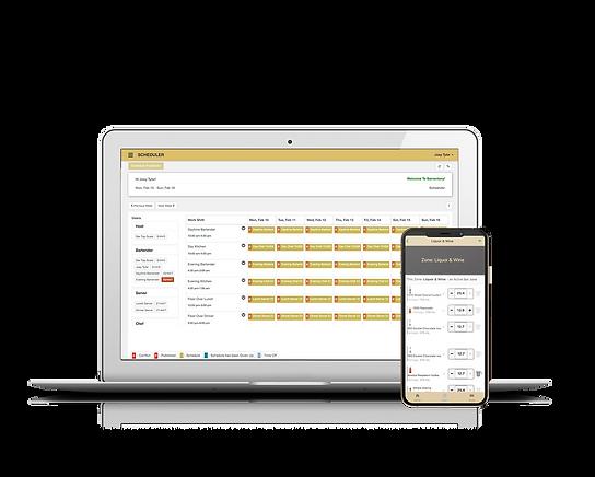 Macbook and iphone Scheduling - Barvento