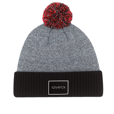 Red - IGIVAFCK - 2inch Black Label - Pom