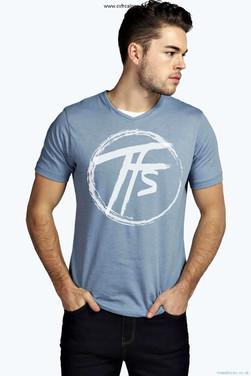 2017 - TFS Circle - Blue T-Shirt - Farew