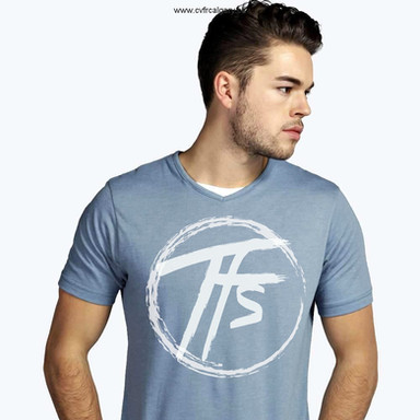 2017 - TFS Circle - Blue T-Shirt - Farew