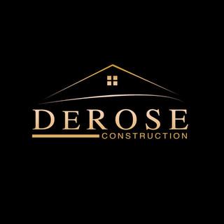 Social Media Black Logo - Derose Constru