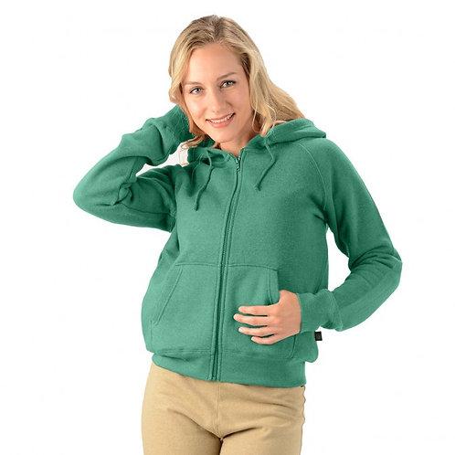Women's Hemp Zip Hoodie