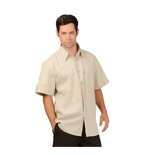Men's Hemp/OC Short Sleeve Shirt