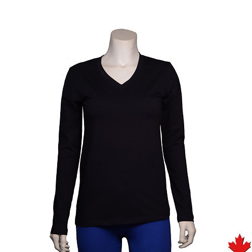 Women's Hemp Stretch Long Sleeve Top