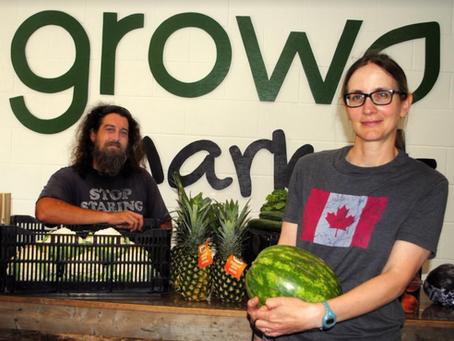 GROW market brings healthy food options to downtown Niagara Falls