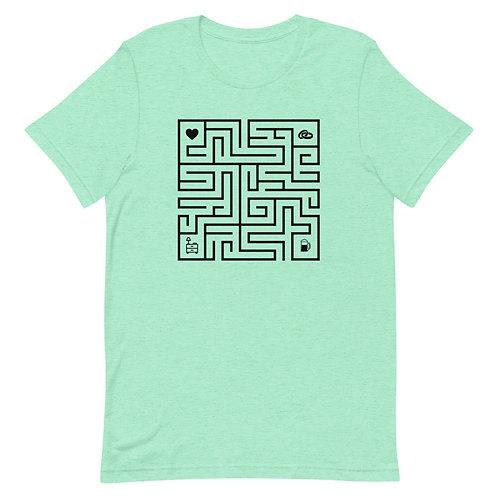 Interactive Maze Tee