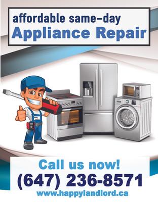 2019-06-09 - Appliance Repair Flyer - Ha