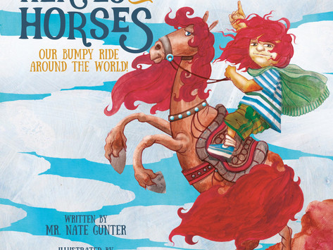 #5 Children's Book - Heroes on Horses: Our bumpy ride around the world!