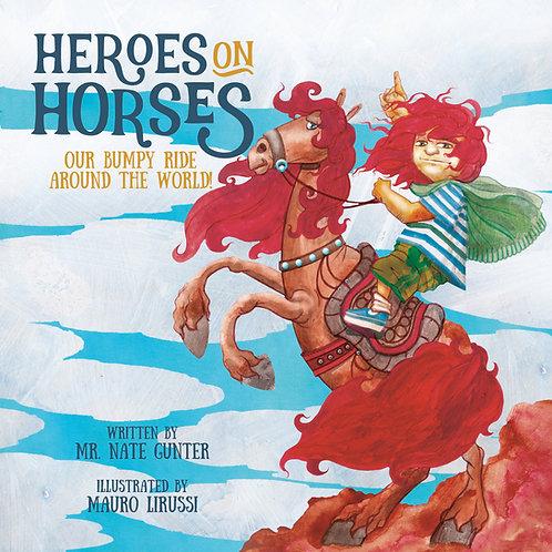 Heroes on Horses (paperback - bulk of 20 books)