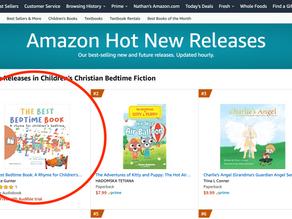 #1 on Amazon Audiobooks for Children's Christian Bedtime Fiction New Releases!
