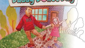 #2 Children's Activity Book - Daddy Donut Day Children's Coloring Book: Fun Children's Activity