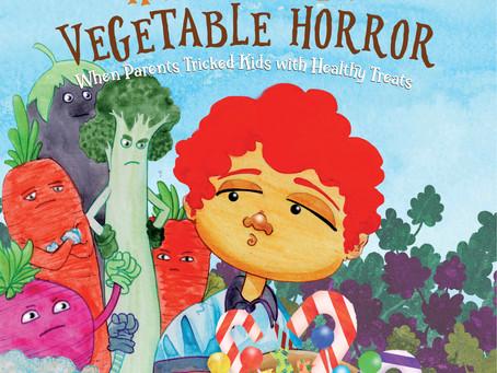 #10 Children's Book - Halloween Vegetable Horror: When Parents Tricked Kids with Healthy Treats