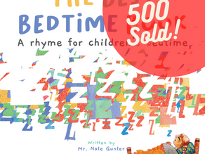 500 Sold of the Children's Book: The Best Bedtime Book: A rhyme for children's bedtime