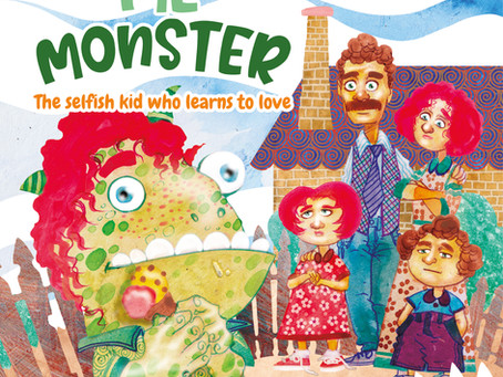 #6 Children's Book - Me Monster: The selfish kid who learns to love