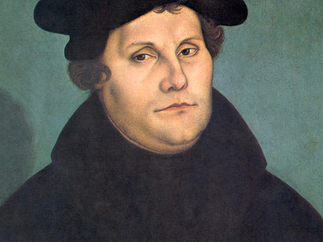 Happy Halloween in 1517 -- Martin Luther and Protestant Reformation Beginnings by Eric Metaxas