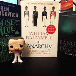 Adam L G Nevill, Ben Aaronovitch, William Dalrymple