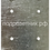 Thumbnail: Металлическая подложка для накладных розетокLegrand Valena (на КМКУ) на 3 поста