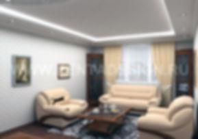 Дизайн проект ремонт 2-х комнатной квартиры в доме П44Т