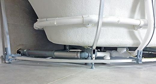 Металлическая труба - вставка в канализацию для Системы уравнивания потнециалов