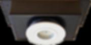 корпус встроенного светильника для деревянного дома