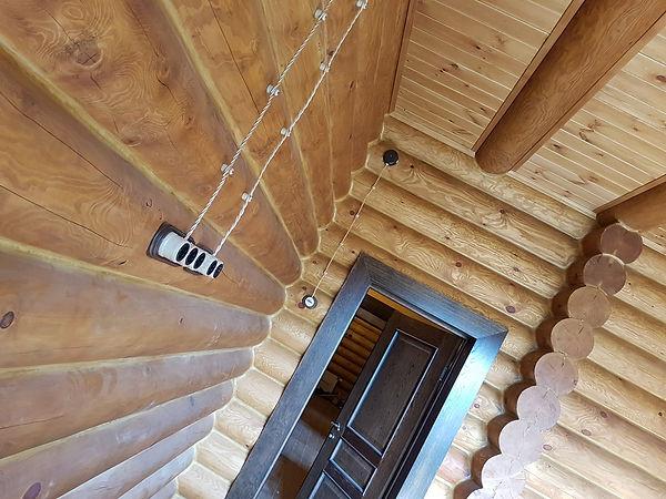 Ретро-проводка в деревянном доме, правила подключения