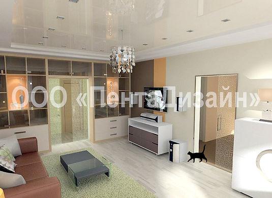 Дизайн-ремонт 4-х комнатных квартир